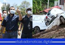 Obras Públicas reporta hasta el momento 449 derrumbes y cinco cárcavas por lluvias