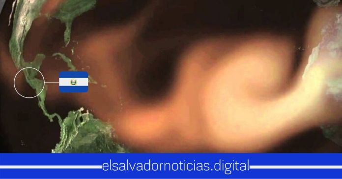 Autoridades informan la llegada del polvo del Sahara a El Salvador a partir de esta tarde y noche