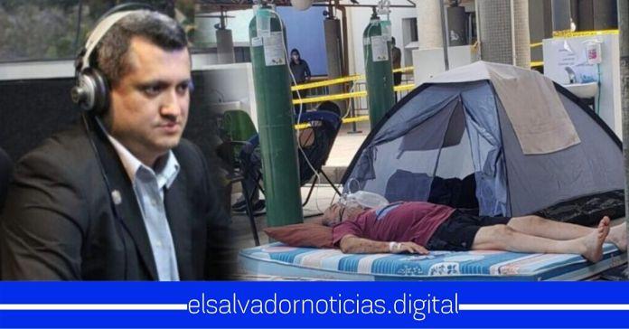 Emilio Corea utiliza fotografías de Honduras, señalando que son de El Salvador para atacar al Gobierno