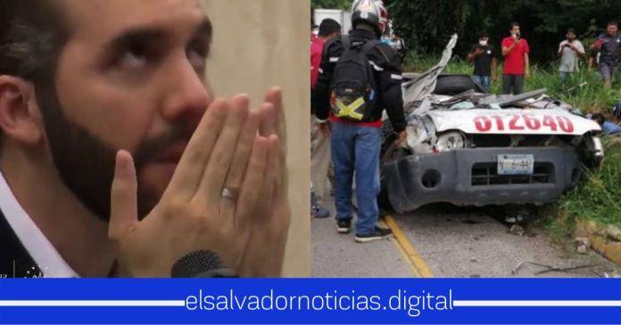 Gobierno ayudará con becas a hijos de agentes fallecidos en aparatoso accidente sobre el redondel Integración