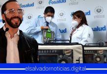 Gobierno instalará ventiladores portátiles en ambulancias de FOSALUD para atender pacientes con COVID-19