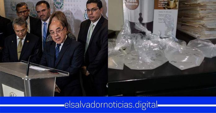 Denuncian a la CSJ por entregar «charamuscas» de alcohol gel a sus empleados