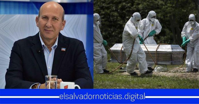 Javier Simán se burla de las vidas perdidas por el COVID-19, que ha dado de baja a muchos profesionales de la salud