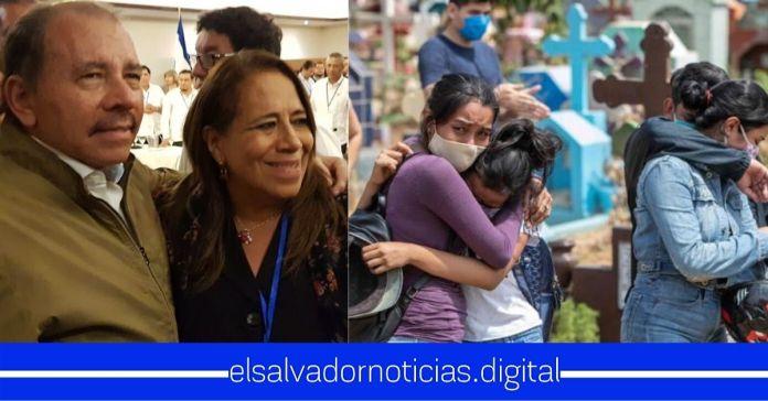 Nidia Díaz aplaude al pueblo de Nicaragua por manejar «mejor» la pandemia que El Salvador