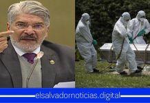 Norman Quijano exige la construcción de más cementerios en el país en lugar de una cuarentena