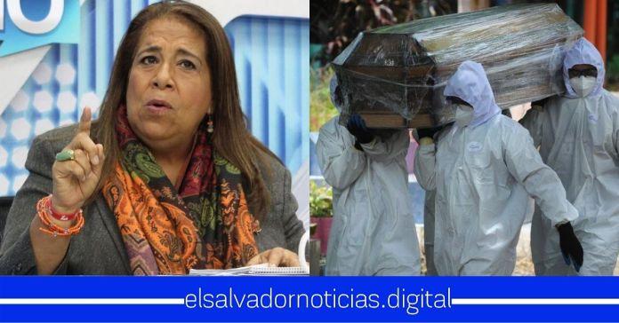 Nidia Díaz afirma que diputados se irán de vacaciones sin imponer cuarentena para que los contagios y muertes por COVID-19 sigan aumentando