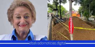 Clausuran parada de bus de $40Mil de Milena Escalón