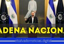 #ÚltimaHora | Presidente Bukele invita al pueblo salvadoreño a sintonizar Cadena Nacional de Radio y Televisión MAÑANA