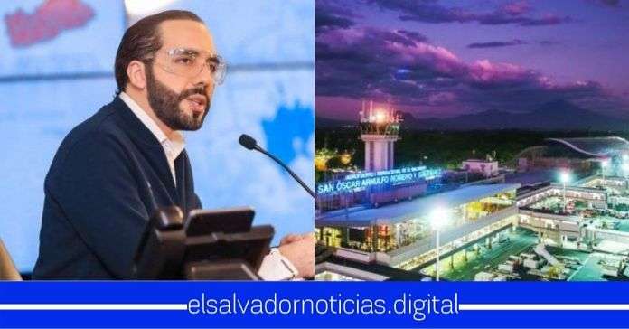 Gobierno lleva un 78% de avance en la ampliación del Aeropuerto Internacional de El SalvadorGobierno lleva un 78% de avance en la ampliación del Aeropuerto Internacional de El Salvador