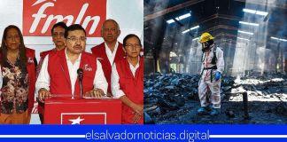 Investigación revela que el FMLN es el actor intelectual sobre el incendio de la exfábrica de baterías Record