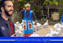 Gobierno de Bukele entrega paquetes alimentarios a artistas y comerciantes de ferias afectados por la pandemia
