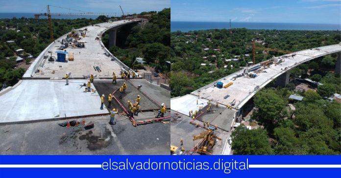 MOP avanza con la obra del viaducto de 380 metros en el segmento II del Bypass en La Libertad