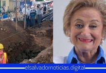 Milena de Escalón desfalca a su municipio construyendo parada de bus por $40,000 con fondos destinados para enfrentar la pandemia