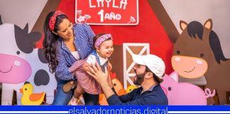 Presidente Bukele y Primera Dama comparten la celebración del primer cumpleaños de su amada hija Layla
