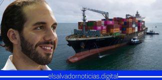 Otro buque cargado con más de 126 toneladas de alimentos llega a El Salvador para afectados por la pandemia