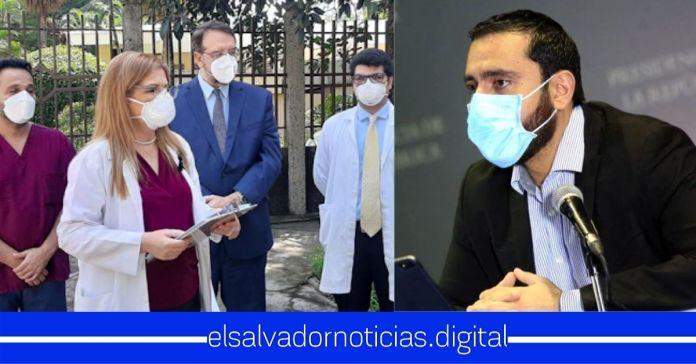Fortín Magaña junto a médicos de ARENA buscan desestabilizar al MINSAL en fase de mayor control de contagios por COVID-19