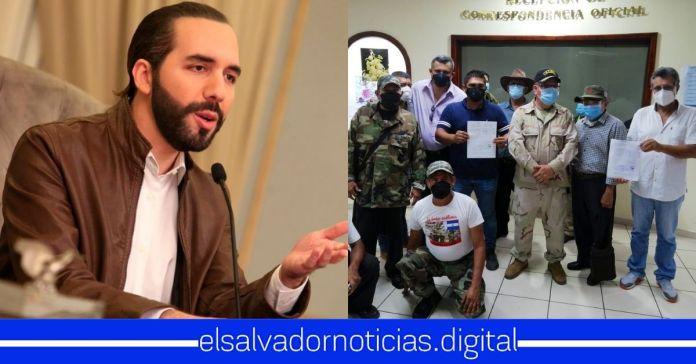 Presidente Bukele lamenta la forma tan vil en la que el FMLN y ARENA han engañado y utilizado a los veteranos de guerra por más de 27 años