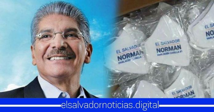 Salvadoreños afirman que les daría asco andar una mascarilla representando al descarado de Norman Quijano