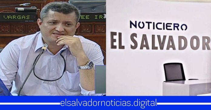 Emilio Coreas se niega a ir a entrevista en Noticiero El Salvador, por medio a que le pregunten de su plaza fantasma en CEL