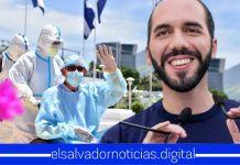 Presidente Bukele resalta que El Salvador cada día tiene sus hospitales vacíos, gracias a la protección de Dios