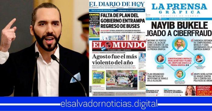 Gobierno estima aplicar impuestos a los periódicos para aumentar la recaudación fiscal