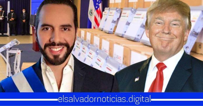 Nayib Bukele y pueblo salvadoreño agradecen a Trump por donativo completo de ventiladores que han salvarán miles de vidas
