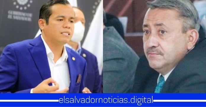 Ministro Zelaya le cierra la bocota a Carlos Reyes tras exigir juramentarlo ante explicación del presupuesto y el responde: «No gracias, yo fui juramentado por el Presidente Nayib Bukele»