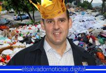 Salvadoreños identifican a Neto Muyshondt como el «Rey de la Basura» de San Salvador