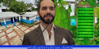 Gobierno de Bukele inaugura nuevo complejo educativo en Rosario de Mora