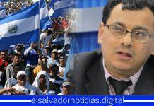 Salvadoreños exigen urgentemente la renuncia de Julio Olivo por posible fraude electoral en 2021