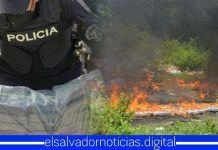 PNC elimina 643 kilos de cocaína, la cual fue incautada en puntos ciegos fronterizos