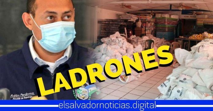 ARENA se robó 2,000 paquetes alimentarios que eran para los mas necesitados