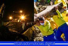 Autoridades continúan labores en deslave de Nejapa, en búsqueda de la última persona desaparecida