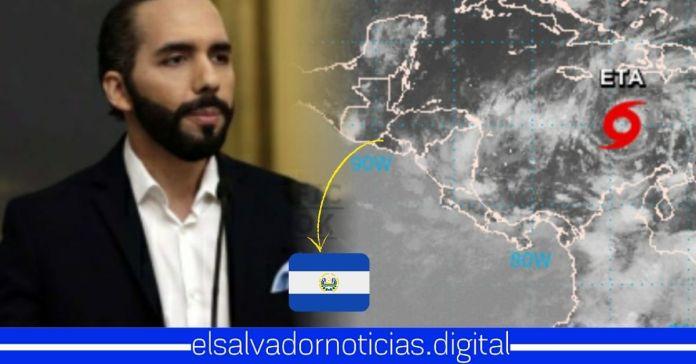Se confirma que El Salvador enfrentará potente tormenta tropical «ETA» en los próximos días