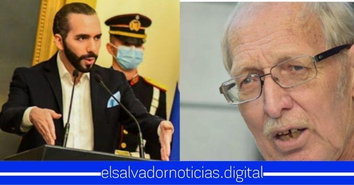 Paolo Lüers pretende ordenar al Presidente Bukele que no actúe contra los pandilleros