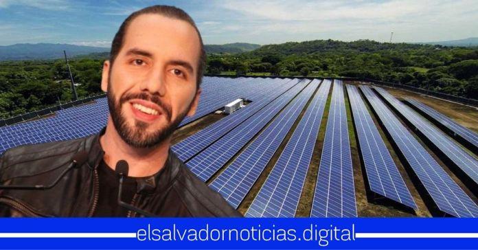 Presidente Bukele logra que El Salvador cuente con un 87% de la energía eléctrica renovable