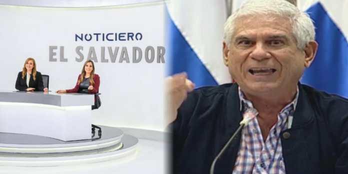 Rodolfo Parker dice que Noticiero El Salvador no sirve, que solo funciona al servicio del