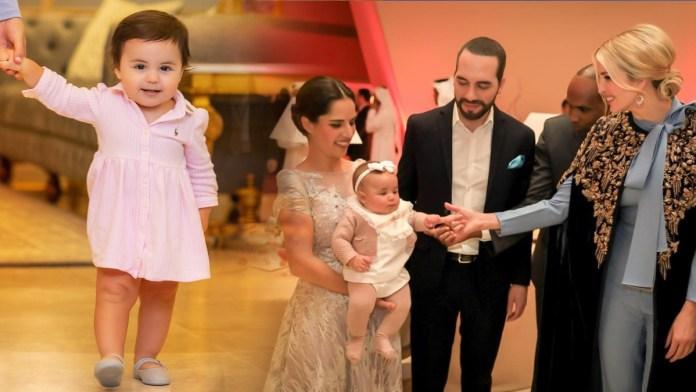 Nayib Bukele saluda a Ivanka un año después de que conoció a la pequeña Layla, durante el foro DOHA en Qatar