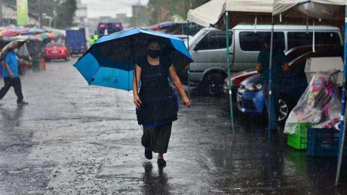 Último día del 2020, presentará lluvias dispersas a nivel nacional