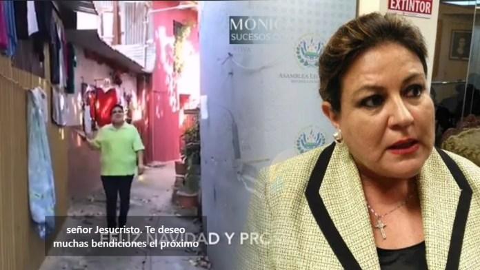 Margarita de Escobar continúa haciendo el ridículo en sus spots de campaña electoral, donde visita comunidades que solo llega en campaña