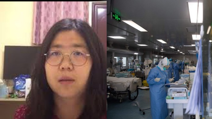 Periodista china es enviado a la cárcel por sus investigaciones sobre el COVID-19 en Wuhan, donde se originó la pandemia