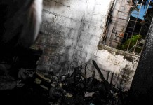 Viviendas dañadas por incendio de planta de gas en Soyapango. De manera preeliminar 10 viviendas han sido dañadas