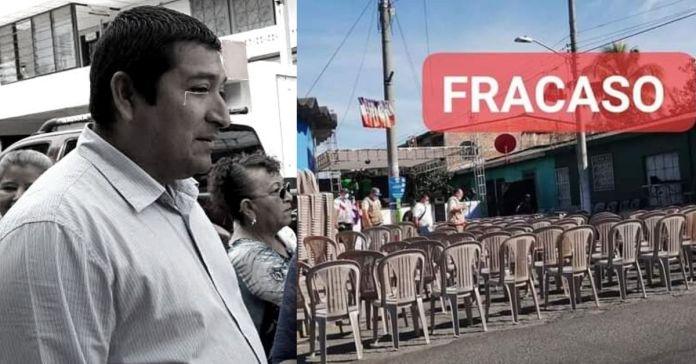 Evento del alcalde de Soyapango se convirtió en FRACASO nadie del municipio asistió ni los empleados de la alcaldía