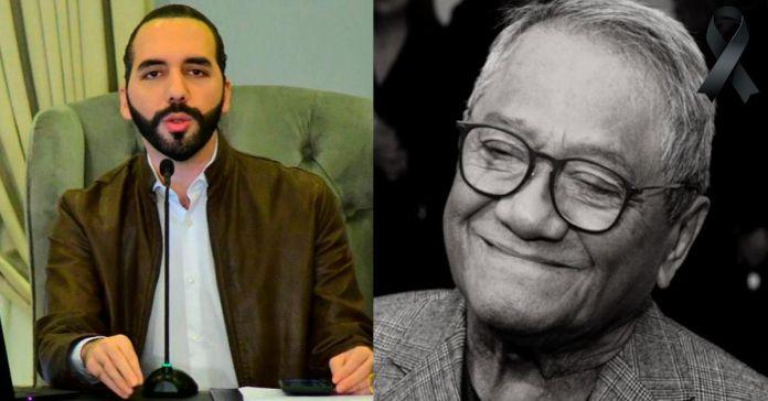Presidente Bukele externa pésame por el fallecimiento del maestro de la música Armando Manzanero