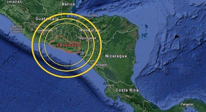 El Salvador percibe en menos de 72 horas un total de 52 sismos tras activación de fallas geológicas
