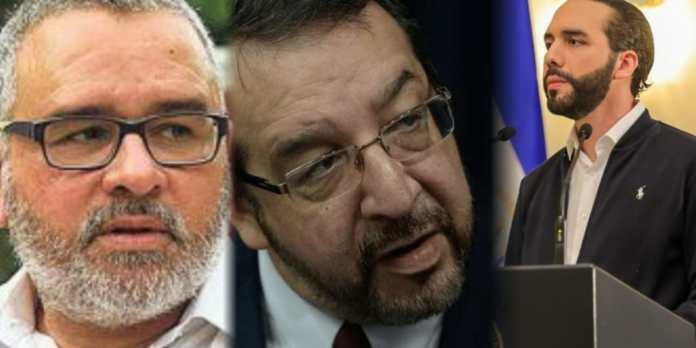 Funes y Fortín se unen para exigir la destitución del Presidente Bukele: «Está loco, no está capacitado para gobernar»