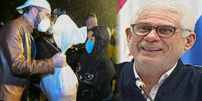Rodolfo Parker critica al Presidente Bukele por empezar año entregando paquetes alimentarios a la población