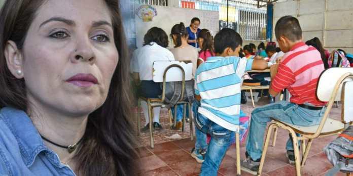 Bertha pide que escuelas sean reabiertas para que niños y niñas regresen a clases sin importar los contagios