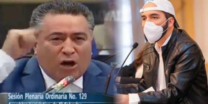 Portillo Cuadra dice que la Asamblea ya le dio todas las herramientas a Bukele para enfrentar la pandemia pero le prohíben declarar cuarentenas