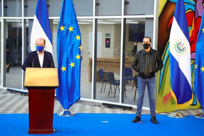 Unión Europea confirma apoyo total al Gobierno de Bukele para construcción de 140 CUBOS